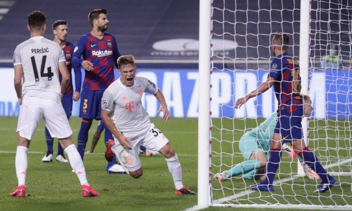 Bayern Munich goleó 8-2 al Barcelona.