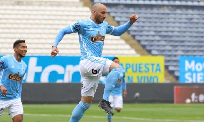 Emanuel Herrera anotó 2 goles con Sporting Cristal ante Cantolao.