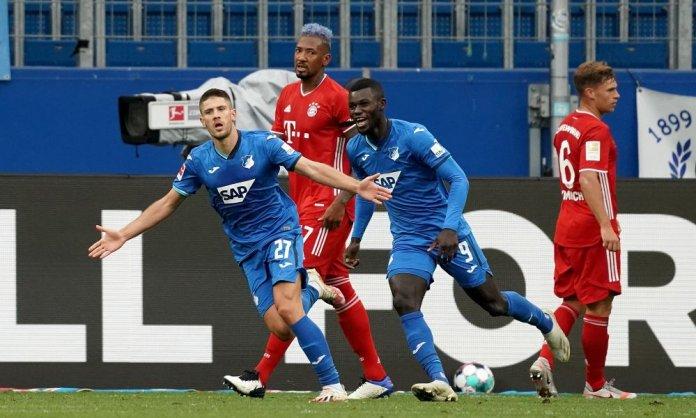 Hoffenheim dio el golpe en la Bundesliga ante el Bayern Múnich. (Hoffenheim)