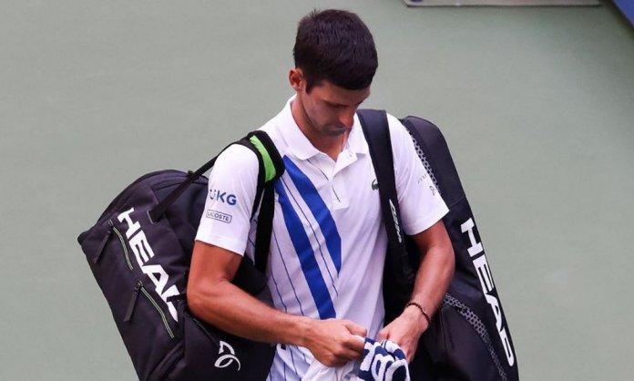 Novak Djokovic era el defensor del título en el US Open.