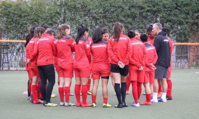 Las selecciones de fútbol femenino vuelven a trabajar en campo en octubre. (FPF)