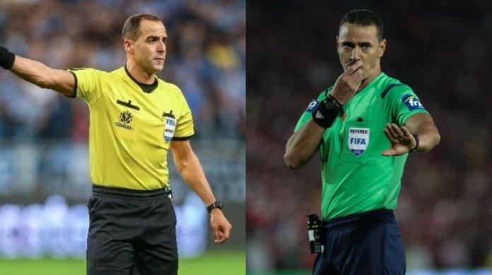 Esteban Ostojich y Wilmar Roldán serán los árbitros ante Chile y Argentina por Eliminatorias.