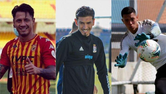 Gianluca Lapadula, Jean Pierre Rhyner y Renato Solís son las caras nuevas en la bicolor.