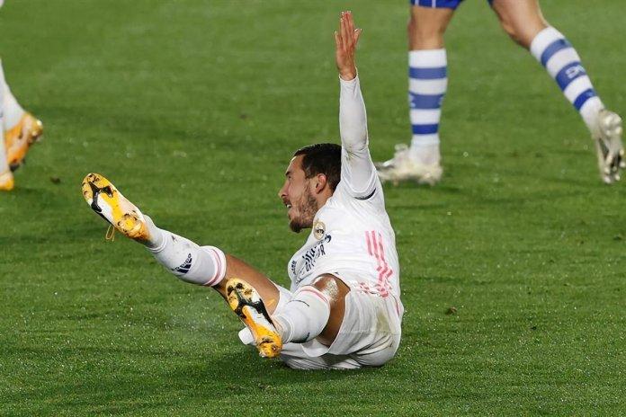 Eden Hazard lesionado
