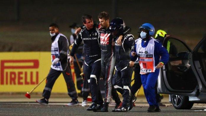 Romain Grosjean se encuentra estable tras terrible accidente. (F1)