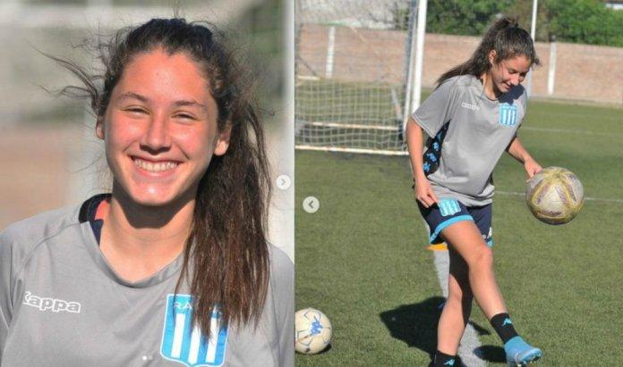 Silvana Alfaro ya entrena en Racing Club. (Talenta)
