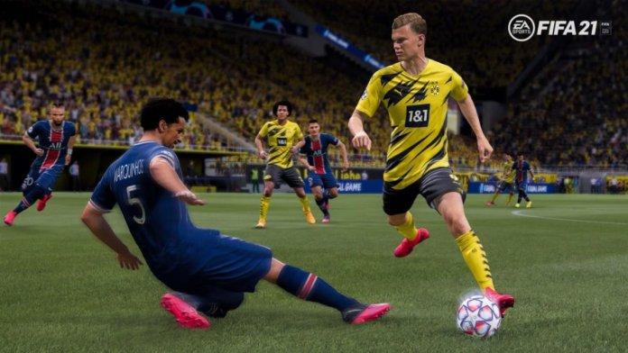 Actualizacion FIFA 21 para PS4 y Xbox One
