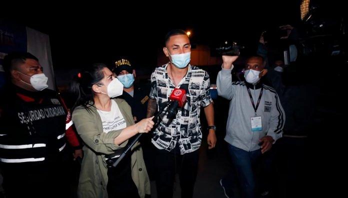 Jean Deza fue detenido por la policia en San Martin de Porres