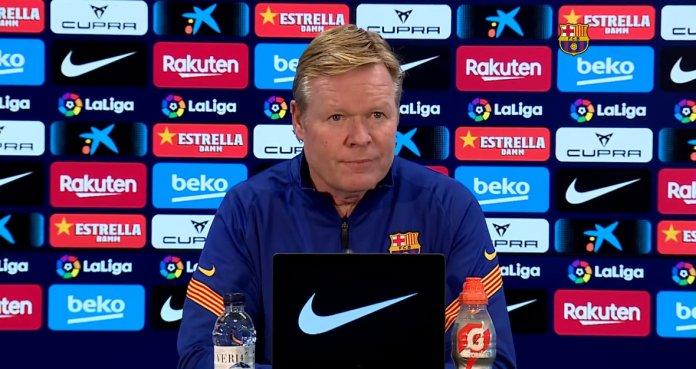 Koeman sobre Lionel Messi
