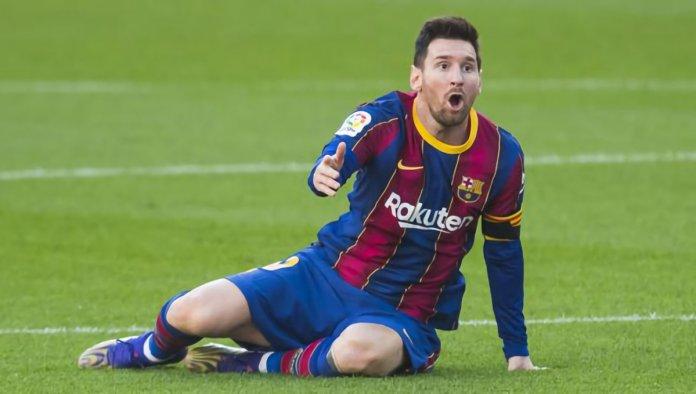 Lionel Messi quedo fuera del partido ante Ferencvaros por Champions