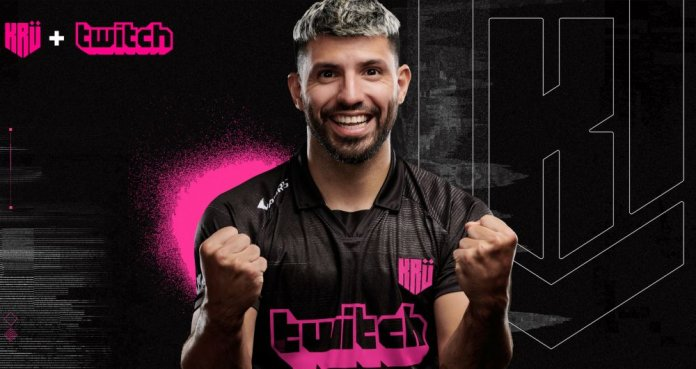 Sergio Agüero tiene su propio equipo de eSports. (@aguerosergiokun)