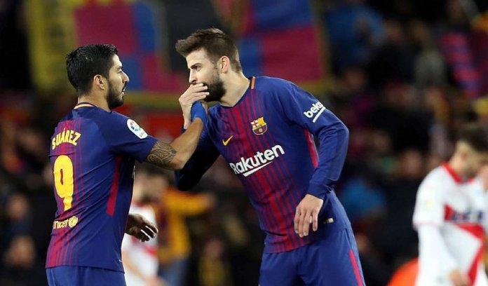Ronald Araujo explica cómo le ayudaron Piqué y Suárez en Barcelona