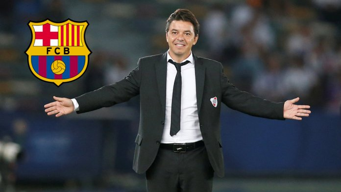 En Barcelona suena fuerte el nombre de Marcelo Gallardo
