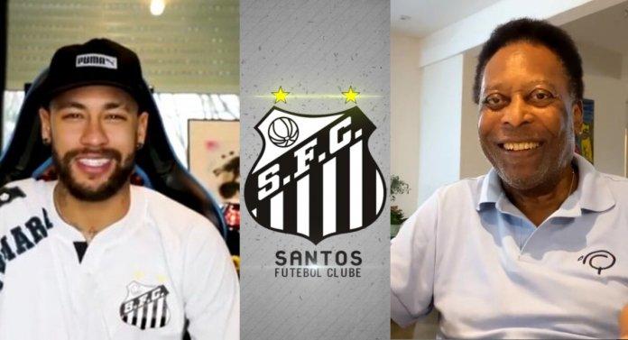 Neymar y Pelé envían mensaje de aliento al Santos de cara a la final de la Copa Libertadores