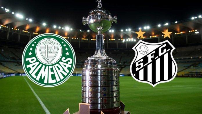 Palmeiras vs Santos por la Final de Copa Libertadores