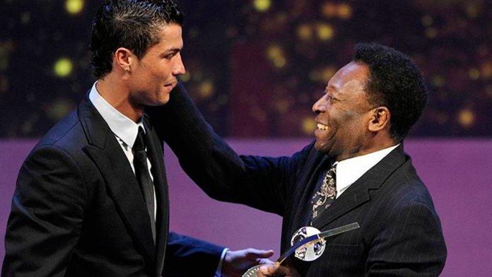 Pelé le recuerda a Cristiano Ronaldo quien es el máximo anotador en la historia del futbol