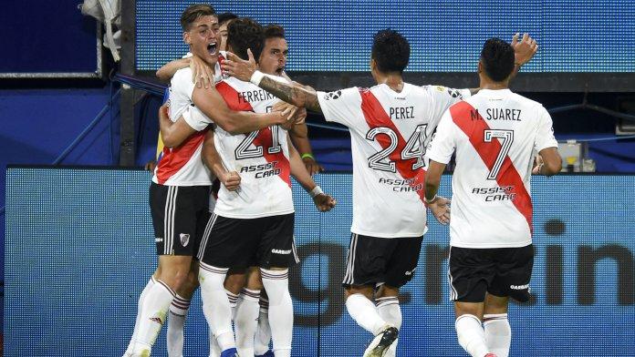 River goleó 3-0 a Palmeiras y hay un video que lo prueba