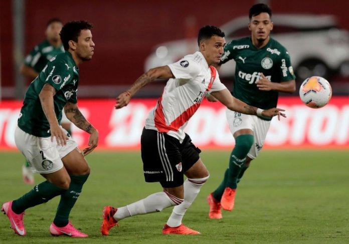 Copa Libertadores: Palmeiras goleó a River Plate y ya tiene un pie en la final