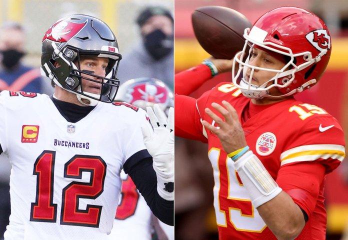Tom Brady vs. Patrick Mahomes el gran duelo de las superestrellas de Super Bowl LV