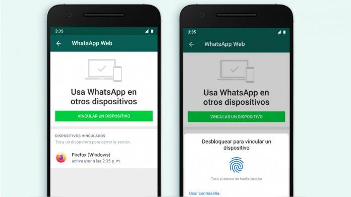 WhatsApp Web requerirá huella dactilar o desbloqueo facial para abrir una nueva sesión