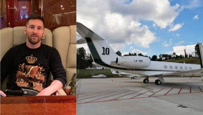 Lionel Messi alquiló su avión al presidente de Argentina
