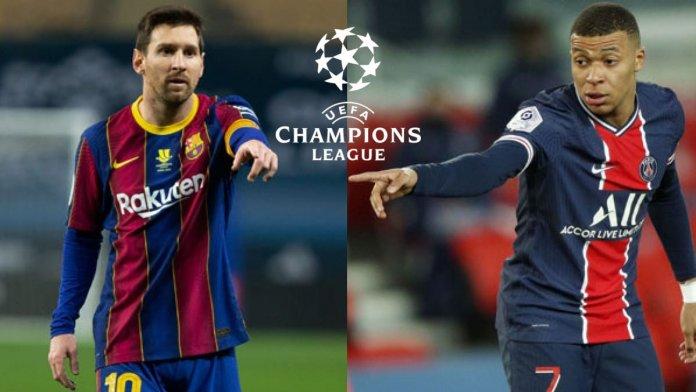 FC Barcelona vs PSG: con Lionel Messi y Mbappé
