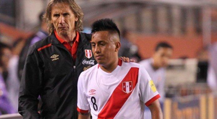 Ricardo Gareca sobre Cristian Cueva