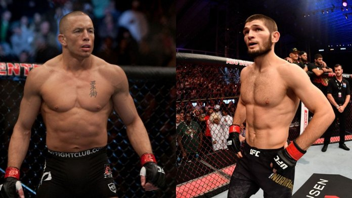 Georges St-Pierre podría regresar a la UFC ante Khabib Nurmagomedov