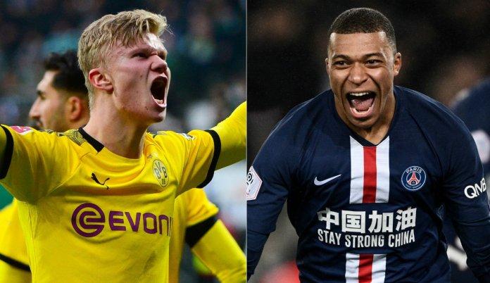 Mbappe o Haaland a quien prefiere Zidane