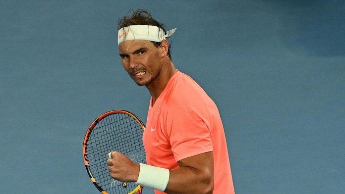 Rafael Nadal a puertas de convertirse en el más grande Open de Australia 2021