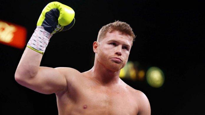 Boxeador mexicano Saul Canelo Alvarez