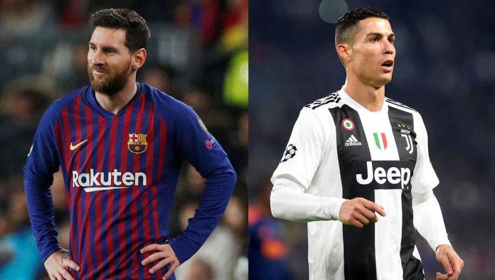 Lionel Messi y Cristiano Ronaldo goleadores de Champions League