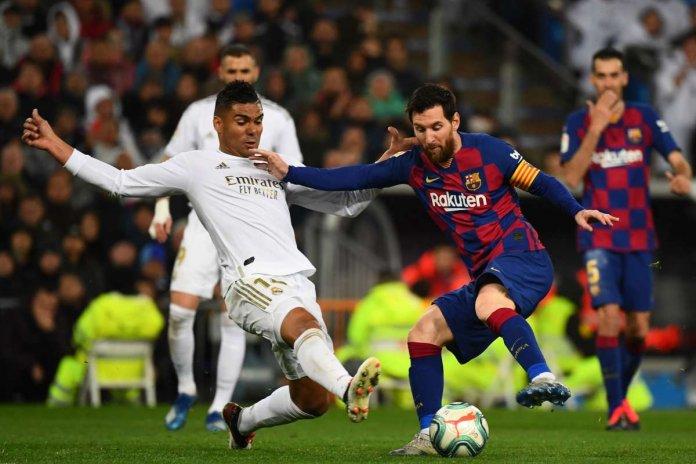 Real Madrid vs Barcelona por LaLiga Santander