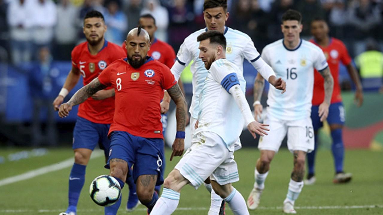 Arg 1 1 Chi Argentina Vs Chile Resumen Goles Del Partido Por La Jornada 7 De Eliminatorias Qatar 2022