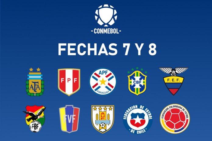 Eliminatorias Sudamericanas: Programación Fechas 7 y 8