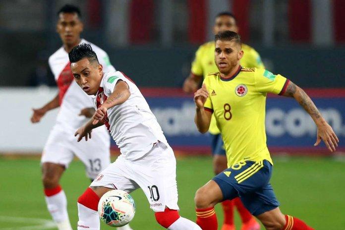 Perú vs. Colombia por Eliminatorias Qatar 2022