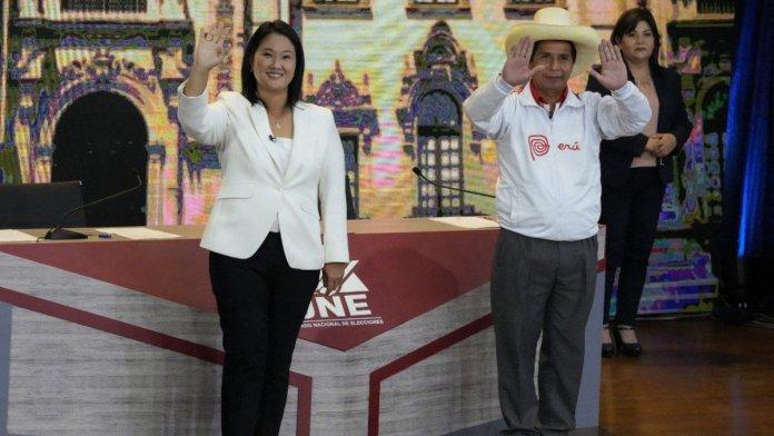 Segunda Vuelta 2021 entre Keiko Fujimori y Pedro Castillo