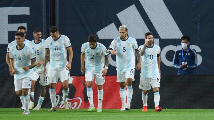 Selección Argentina en la Copa América Brasil 2021