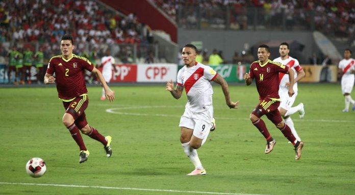 Perú vs Venezuela por Eliminatorias a Qatar 2022
